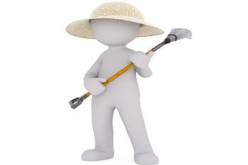 Gartenpflege u. Gartenhilfen