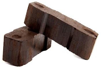 Kohlenbrikett